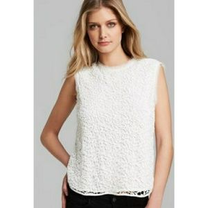 Rebecca Taylor Guipure Lace-Overlay Top 4